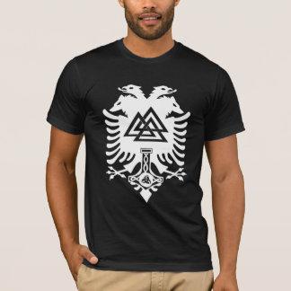Odinの頂上の暗闇のワイシャツ Tシャツ