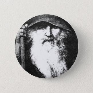 Odin放浪者 5.7cm 丸型バッジ