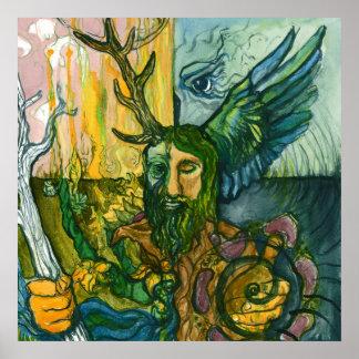 Odin -北のシャーマン ポスター