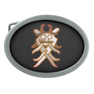 Odinsのマスクのベルトの留め金 卵形バックル