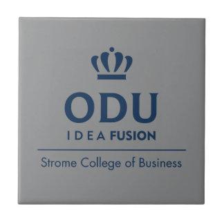 ODUによって積み重ねられるロゴ-青 タイル