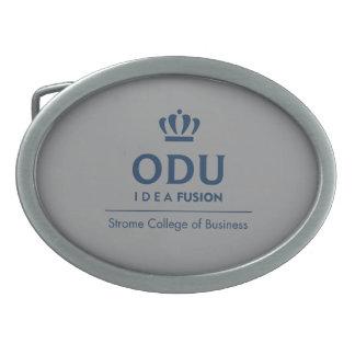 ODUによって積み重ねられるロゴ-青 卵形バックル