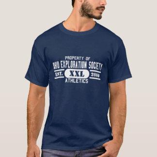 OESの暗いTシャツ(運動競技) Tシャツ