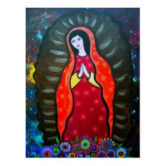 OFグアダルペ私達の女性 ポストカード
