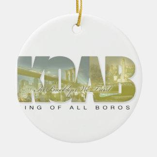 Of All Boros王の#KOAB セラミックオーナメント