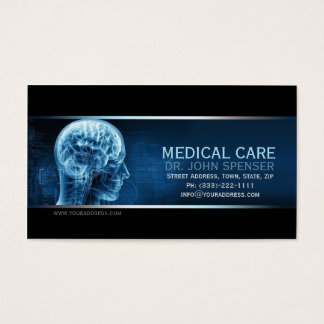 Of Anatomy Blue Brain博士の医学の名刺 名刺