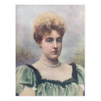 Of Aosta公爵夫人 ポストカード