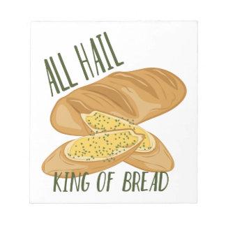 Of Bread王 ノートパッド