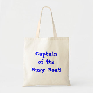 Of Busy Boat大尉のトートバック トートバッグ