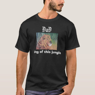 OF JUNGLEパパ王のティー Tシャツ