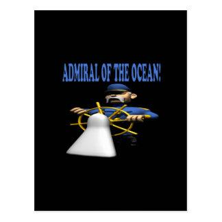 Of Ocean海軍大将 ポストカード