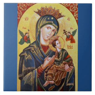 OF PERPETUAL HELP ICON私達の女性 タイル