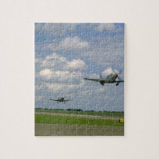 Off_WWIIの飛行機を取るコブラP63およびP39 ジグソーパズル