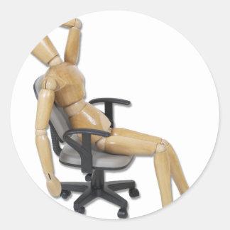 OfficeFrustration ラウンドシール