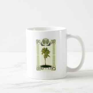 Oghamの樺の木 コーヒーマグカップ