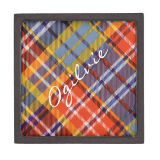 Ogilvieのスコットランド人のタータンチェック ギフトボックス