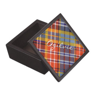Ogilvieのスコットランド人の格子縞 ギフトボックス
