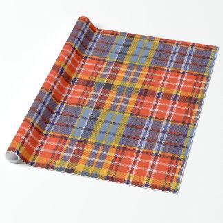 Ogilvieの一族の格子縞のスコットランド人のタータンチェック ラッピングペーパー