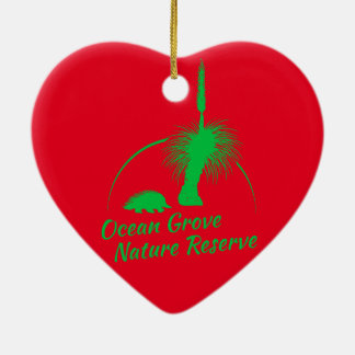 OGNR愛ハートのクリスマスのオーナメント セラミックオーナメント