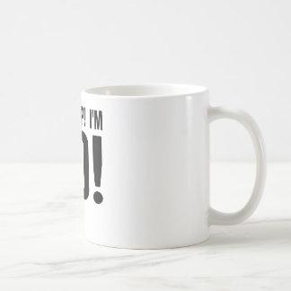 Ohがらくた! 私は80才です! 第80誕生日 コーヒーマグカップ