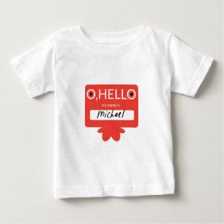 Ohこんにちは私の名前はミハエルです ベビーTシャツ