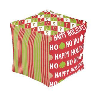 Ohどんなおもしろい! クリスマスはpoufを設計します プーフ