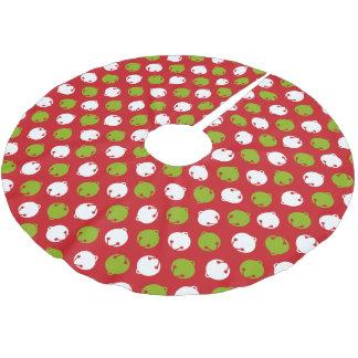 Ohどんなおもしろい! クリスマス鐘の木のスカート ブラッシュドポリエステルツリースカート