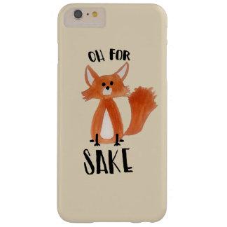 """""""Ohキツネの為のために! """"キツネのイラストレーションを含むPhonecase スリム iPhone 6 Plus ケース"""
