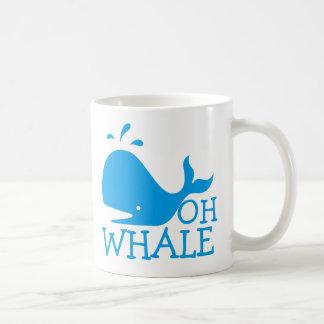 Ohクジラ コーヒーマグカップ