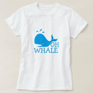Ohクジラ Tシャツ