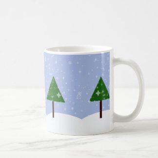Ohクリスマスツリーのマグ コーヒーマグカップ