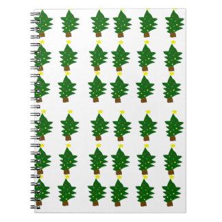 Ohクリスマスツリー ノートブック