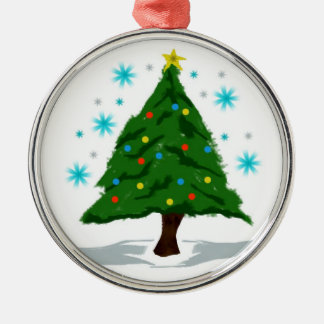 Ohクリスマスツリー メタルオーナメント