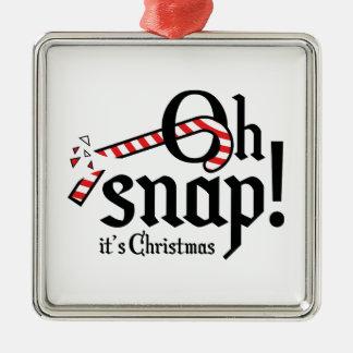 Ohスナップ! それはクリスマスです メタルオーナメント