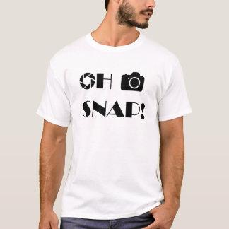 Ohスナップ Tシャツ