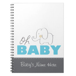 Ohベビー象-ノート ノートブック