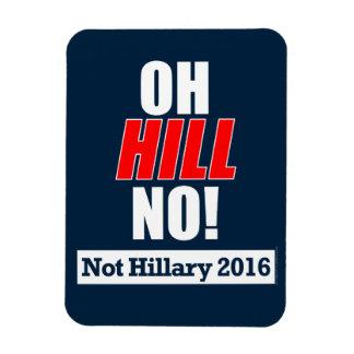 Oh丘いいえ! おもしろいなアンチヒラリークリントン2016年 マグネット
