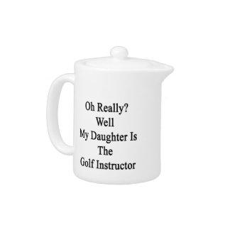 Oh実際に井戸は私の娘ゴルフ教官です