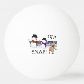 Oh急なジンジャーブレッドマン 卓球ボール