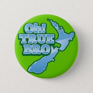 Oh本当のBRo! キーウィの地図 缶バッジ