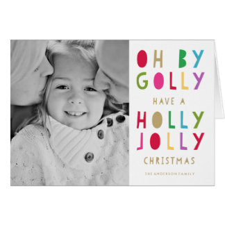 Oh |の休日の写真カード グリーティングカード