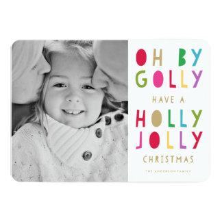 Oh |の休日の写真カード 12.7 x 17.8 インビテーションカード