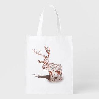 Oh Deer~の私のメリークリスマス! |のエコバッグ エコバッグ