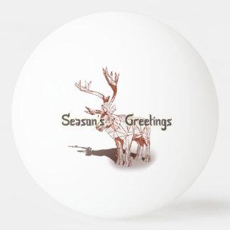 Oh Deer~の私のメリークリスマス! |のピンポン球 卓球ボール