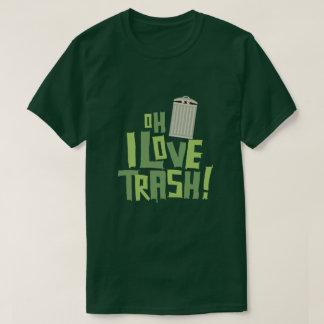 Oh I愛屑のレトロの大衆文化のグラフィック Tシャツ