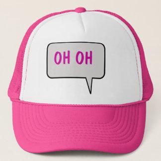 Oh Oh帽子を言うスピーチの泡 キャップ