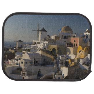 OiaのSantoriniの町のギリシャそしてギリシャの島 カーマット