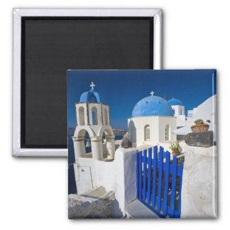Oia 3のSantoriniの町のギリシャそしてギリシャの島 マグネット