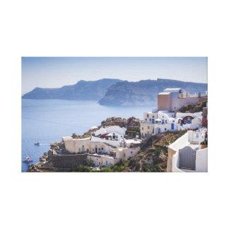 Oia Santoriniギリシャ キャンバスプリント