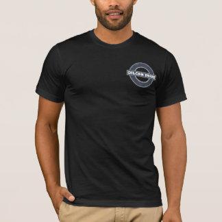 OilCanドライブ- Kickstarterのデザイン-デラックスな変形 Tシャツ